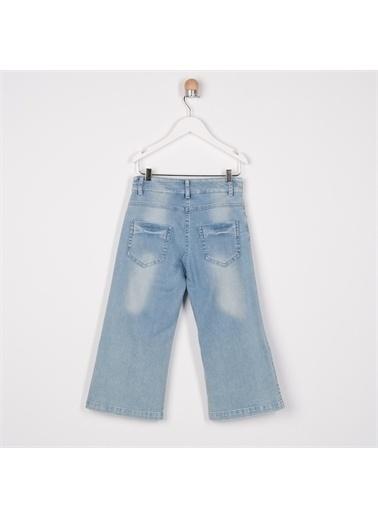 Panço Panço Pantolon Kız Çocuk Mavi